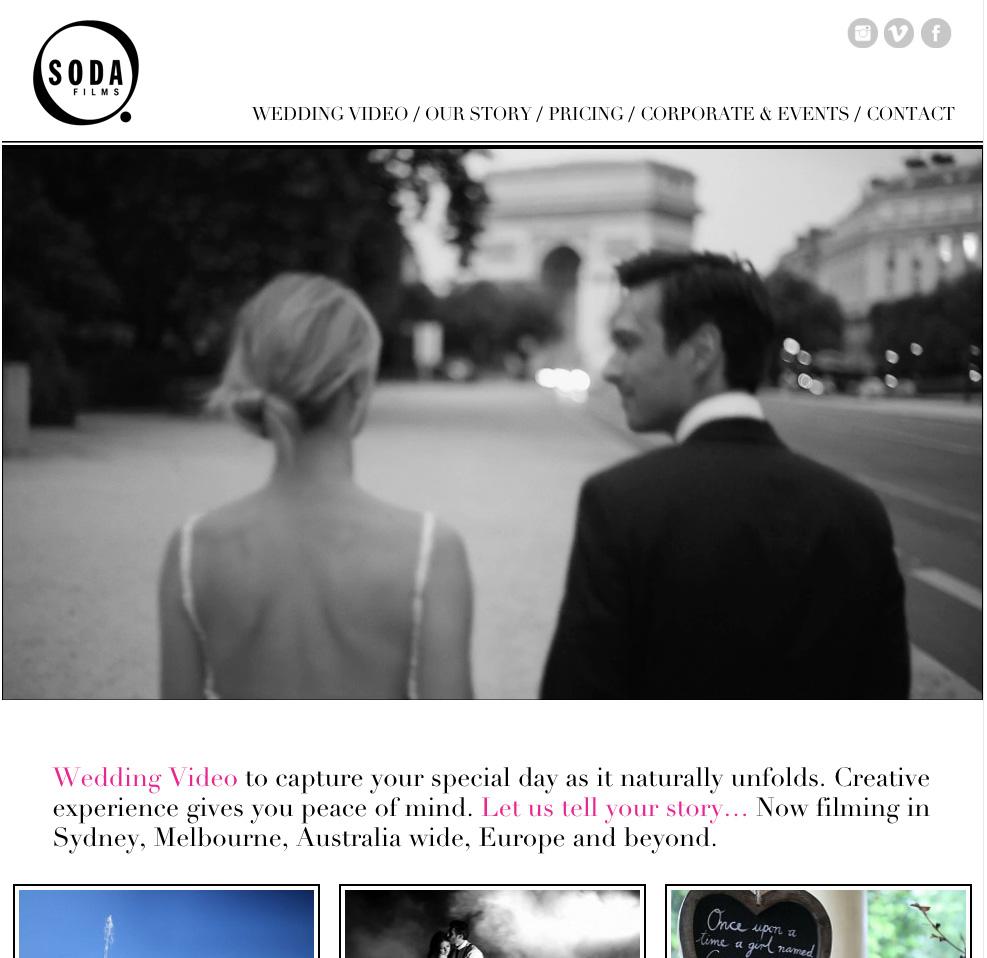 Wedding Films & Videography Sydney, Wedding Video Melbourne